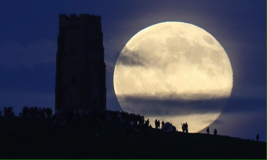 Summer Solstice and Strawberry FullMoon