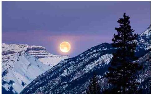 Snow Moon Lunar Eclipse