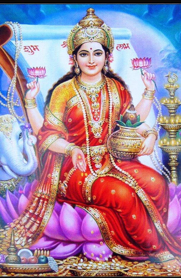 Deity: Goddess Laxmi