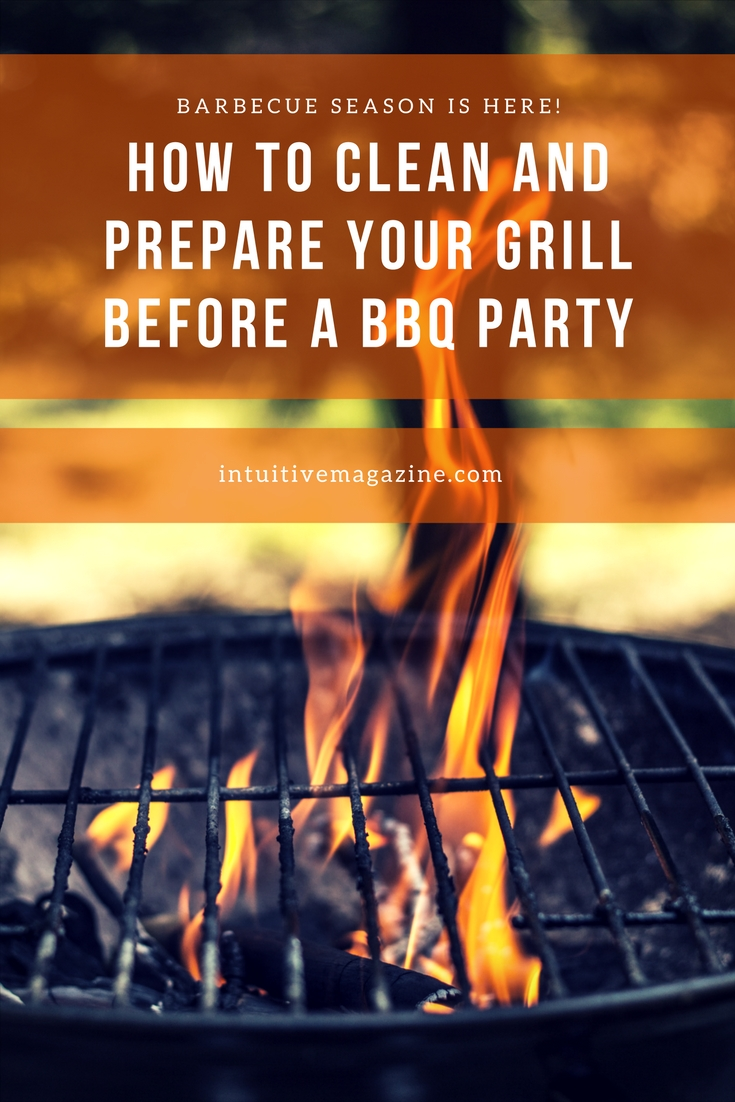 How To Clean and Prepare Your Grill Before A BBQParty