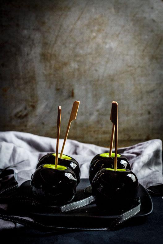 Poison Toffee Apples: HalloweenRecipes