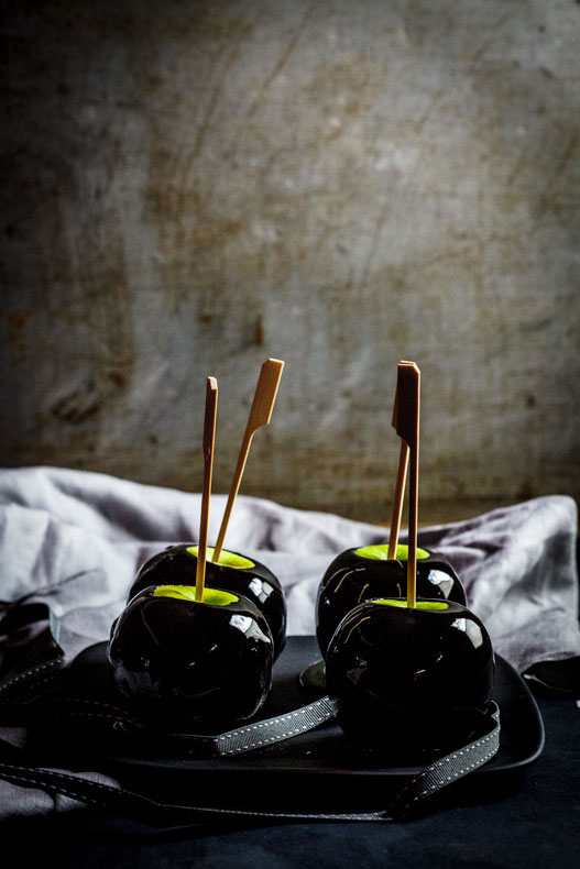 Poison Toffee Apples: Halloween Recipes