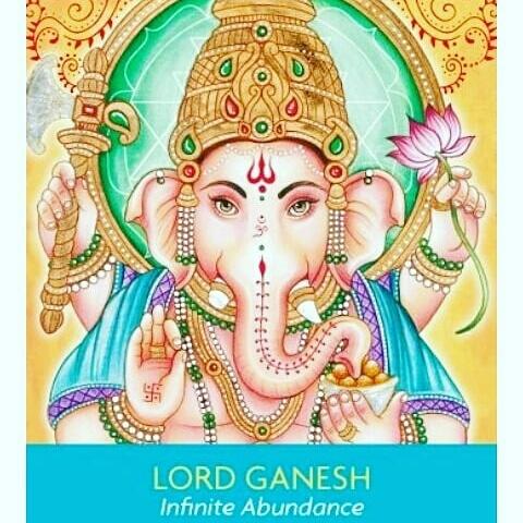 Ganesh: Cosmic Oracle CardReading
