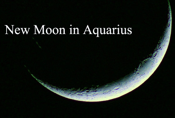 New Moon in Aquarius – February 2019